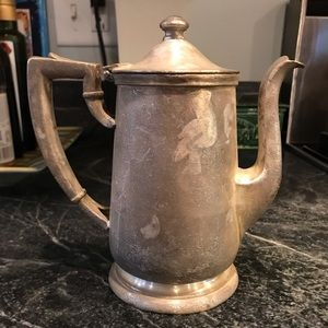 International silver co antique coffee pot